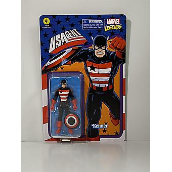 Yhdysvaltain agentti Marvel Legends Kenner Hasbro F2670