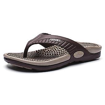 Nowe letnie oddychające buty plażowe, klapki do masażu, sandały one word, lekkie miękkie kapcie