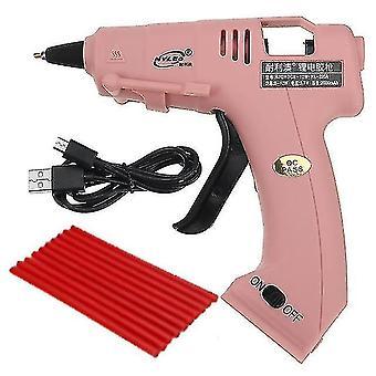 Glue guns 20w high temp hot melts glue gun with 7x100mm glue sticks industrial mini guns thermo electric heat