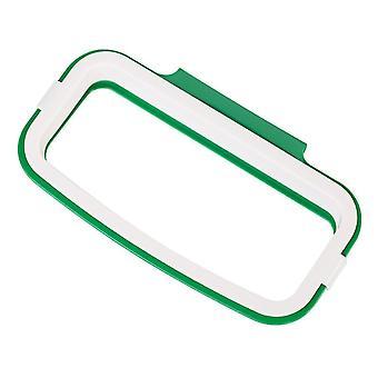 Nouveau design scandinave sur placard ou porte porte-sac poubelle suspendu (vert)