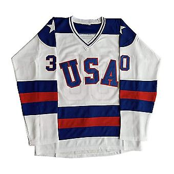 1980 Miracle On Ice Team Usa Hockey 17 Jack O'callahan 30 Jim Craig #21 Mike Eruzione Stitched Hockey Jerseys