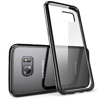 i-Blason Galaxy S7 Edge Halo Series Transparent Case  - Black