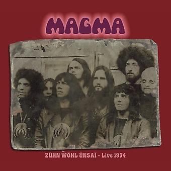 Magma - importation USA Zuhn Wol Unsai-Live 1974 [CD]