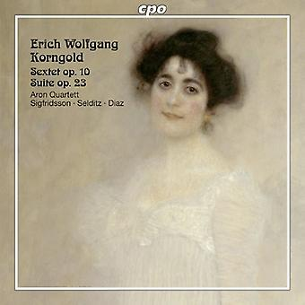 Korngold - Erich Wolfgang Korngold: Sextuor op. 10; Suite Opus 23 [CD] USA import