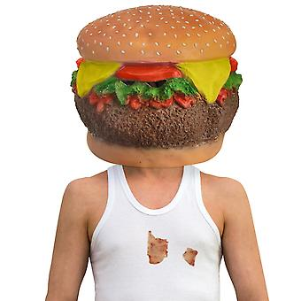 Cheeseburger mask LaTeX deluxe Burger full mask