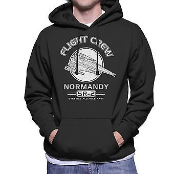 Normandy Flight Crew Mass Effect Men's Hooded Sweatshirt