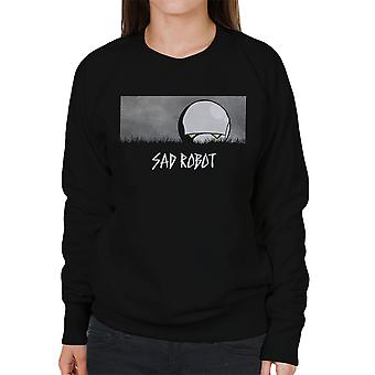 Sad Robot Marvin Hitchhikers Guide To The Galaxy Women's Sweatshirt