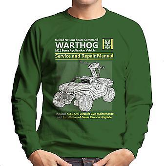 Halo Warthog Service And Repair Manual Men's Sweatshirt