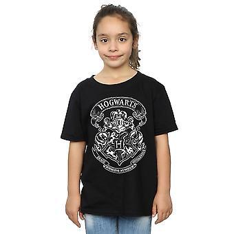 Harry Potter flickor Hogwarts Crest T-Shirt