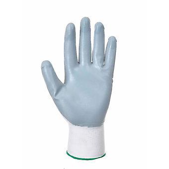 sUw-Flexo grip Nitril všeobecné manipulačné rukavice (12 pár maloobchodné Bagss)