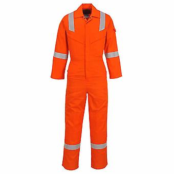 Portwest - Flame Rezista Super Light Greutate Anti-Static Coverall 210g