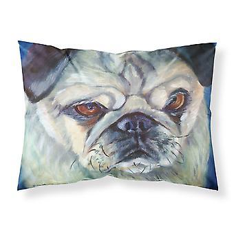 Carolines Treasures  7422PILLOWCASE Pug in Thought Fabric Standard Pillowcase