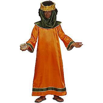 Kinderen kostuums kinderen bijbelse koning Balthazar kostuum voor kinderen
