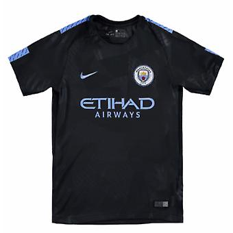 Camisa de futebol de Nike terceira 2017-2018 man City (crianças)