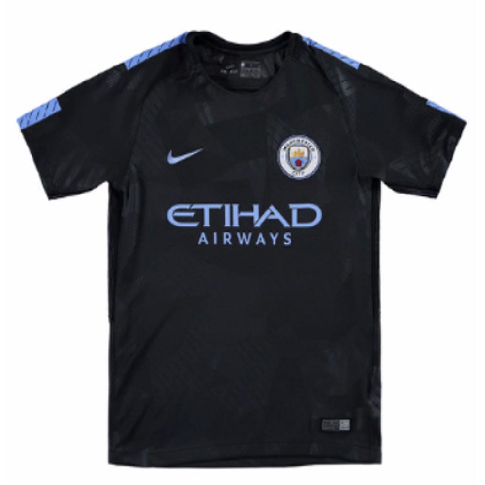 b417a79e8e3 2017-2018 Man City Third Nike Football Shirt (Kids) | Fruugo