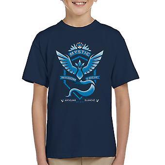 Pokemon gehen mystische Crest Kinder T-Shirt Team
