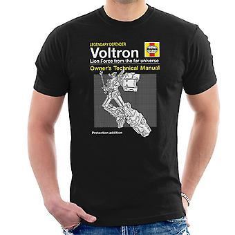 Voltron-Verteidiger des Universums Haynes manuelle Herren T-Shirt