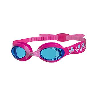 Zoggs Little Twist Swim Goggles 0-6 Years - Tinted Lens - Pink