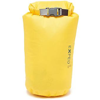 New EXPED Fold Drybag 5L Travel Luggage Yellow