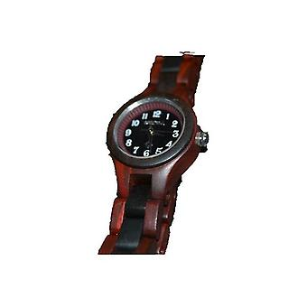 Bewell Holz Armbanduhr Uhr Armband Uhr Holzuhr Sandelholz Echtholz Damenuhr Geschenk Geschenkidee unikat