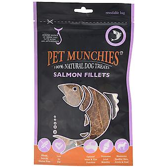 Pet Munchies Dog treat Salmon Fillets, 90 g