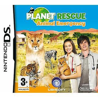 Planet räddning djur nöd-(Nintendo DS)-ny