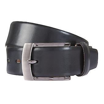 BERND GÖTZ belts men's belts leather belt leather black 462
