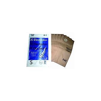 Electrolux aspiradora bolsa de papel - Pack de 5 (E60)