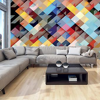 Wallpaper - Colour Patchwork