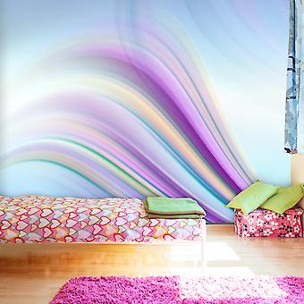 Fototapetti - Rainbow abstract background