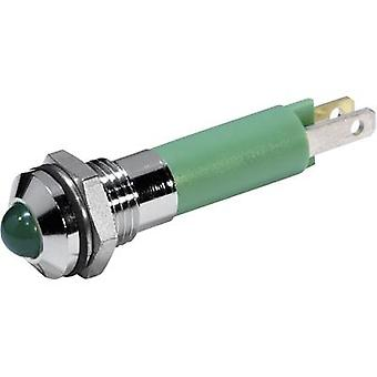 CML LED indicator light Green 12 V DC 1904 0251