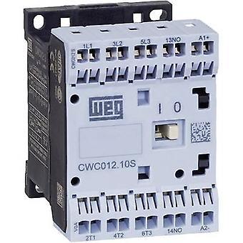 WEG CWC09-01-30D24S contactor 3 beslutsfattare 4 kW 230 V AC 9 A + extra kontakt 1 st. (s)