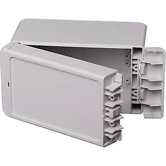 Bopla Bocube B 140809 ABS-7035 96033135 Wall-mount enclosure, Fitting bracket 80 x 151 x 90 Acrylonitrile butadiene styrene Grey-white (RAL 7035) 1 pc(s)