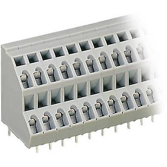 WAGO 2-tier terminal 2.50 mm² Number of pins 12 Grey 1 pc(s)