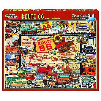 Route 66 1000 Piece Jigsaw Puzzle 760Mm X 610Mm