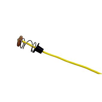 Peterson 411-07 Single Contact Light Bulb Pigtail Plug