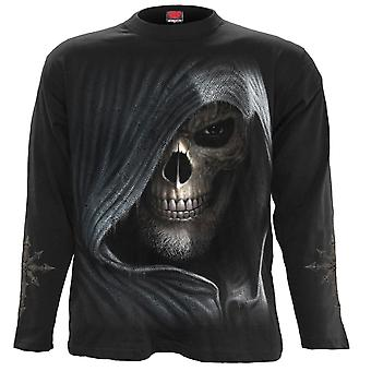 Spiral Direct Gothic DARKNESS - Longsleeve T-Shirt Black|Skulls|Reaper|Death|Skeleton