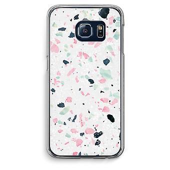 Custodia trasparente Samsung Galaxy S6 Edge (Soft) - Terrazzo N ° 3