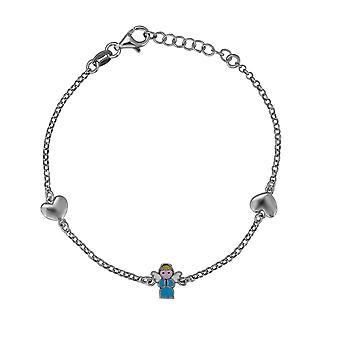 Orphelia 925 Silver Kids Bracelet with  Figure 18 CM  ZA-7456