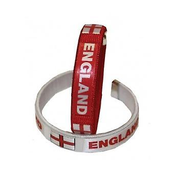 Union Jack bære 2 England stof armbånd
