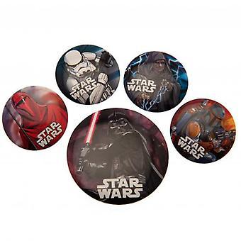 Star Wars Schaltflächenset Abzeichen