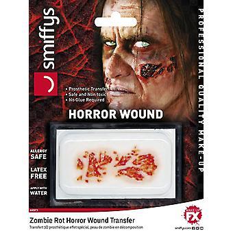 Horror sår overførsel, zombie rød