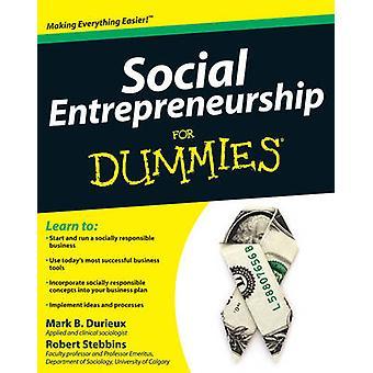 المشاريع الاجتماعية ل Dummies(r) بمارك دوريو-روبرت ستيب