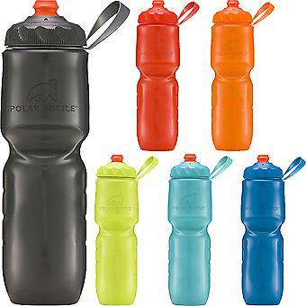 Polar Bottle 24 uncji ZipStream wysoki przepływ izolowane ściśliwy butelka wody