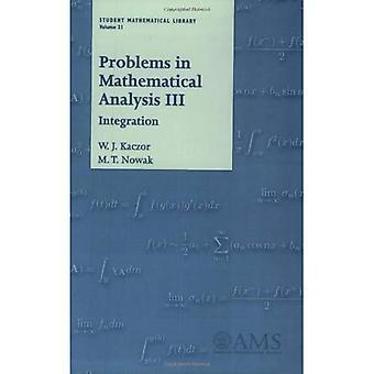 Problem i matematisk analys III: Integration