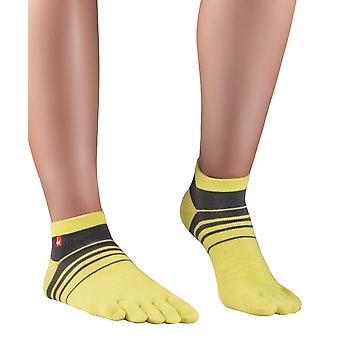 Knitido track & trail tours sneaker chaussettes hommes, chaussettes orteils pour les chaussures de sport et des orteils