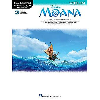 HAL Leonard Instrumental spille sammen: Moana - fiolin (bok/Online Audio)