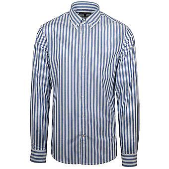 Michael Kors blå CHAMBRAY skjorte