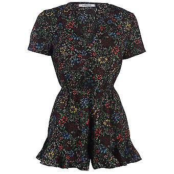 Glamorous Womens Floral Playsuit Short Sleeve Pattern