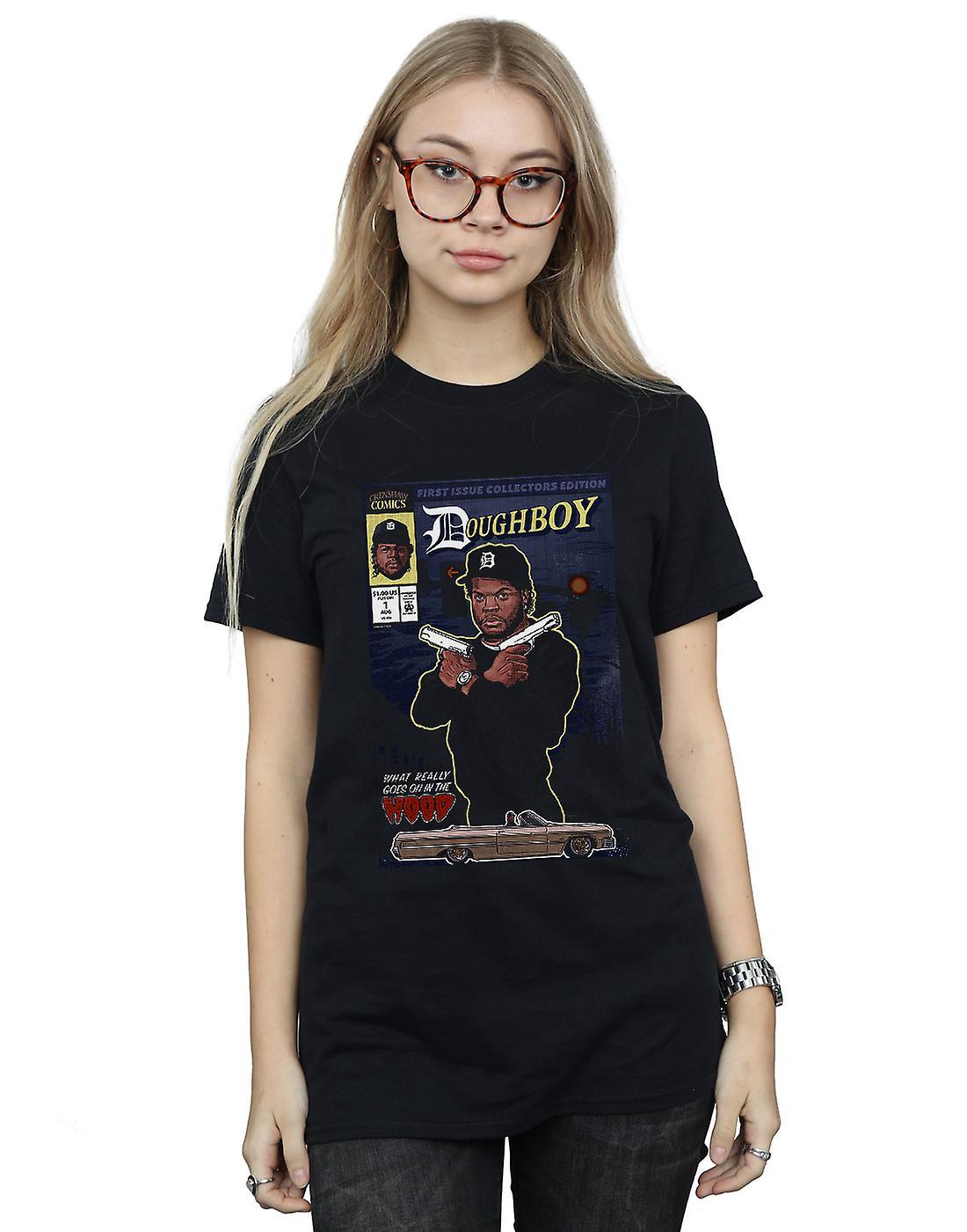Pennytees Women's Doughboy Comics Boyfriend Fit T-Shirt